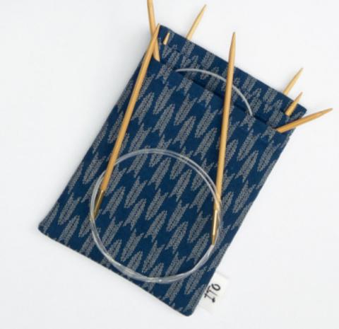 ITO Fabric Case - чехол для круговых спиц и лесок