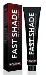 KONDOR «FAST SHADE» Краситель для волос и бороды, тон 4 - шатен 60мл