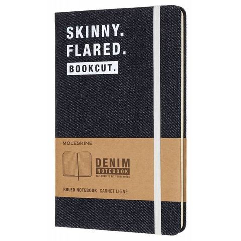 Блокнот Moleskine Limited Edition DENIM NOTEBOOKS LCDNQP060S Large 130х210мм 240стр. линейка Skinny