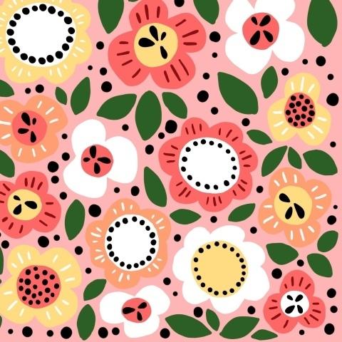 Скандинавские цветы