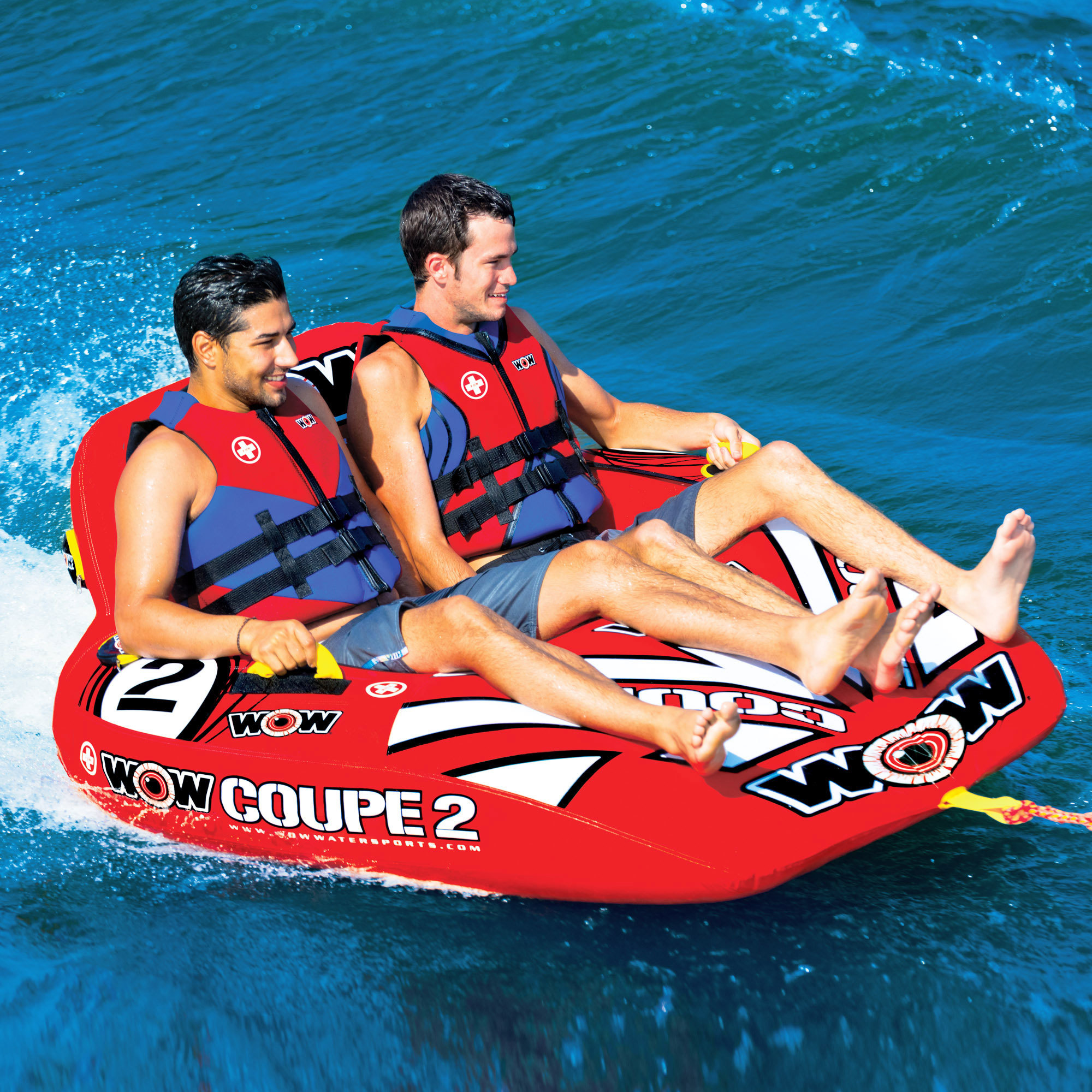 "Towable ski tube ""Coupe Cockpit"", 2 person"