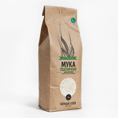 Мука пшеничная цельнозерновая Био Черный Хлеб 1 кг