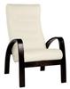 Кресло «Ладога-2», ткань слоновая кость, каркас венге структура, GREENTREE, г. Воронеж