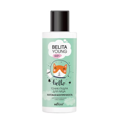 Белита Belita Young Skin Тоник-пудра для лица «Матовая безупречность» 115мл