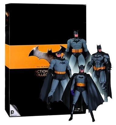Batman 75th Anniversary 4-Pack Set 1 Action Figure