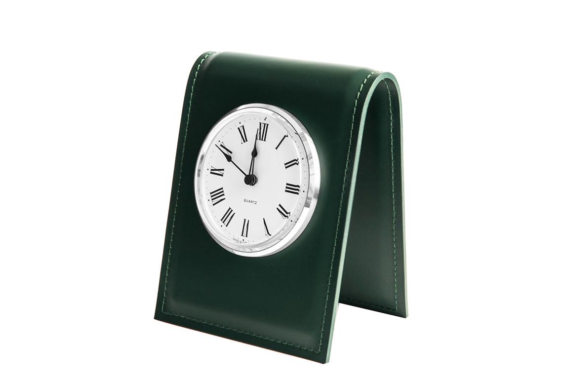 Часы с циферблатом D103 Buvardo БИЗНЕС из кожи цвет ЗЕЛЕНЫЙ
