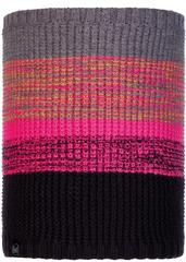 Вязаный шарф-труба с флисом Buff Neckwarmer Knitted Polar Alyona Melange Grey