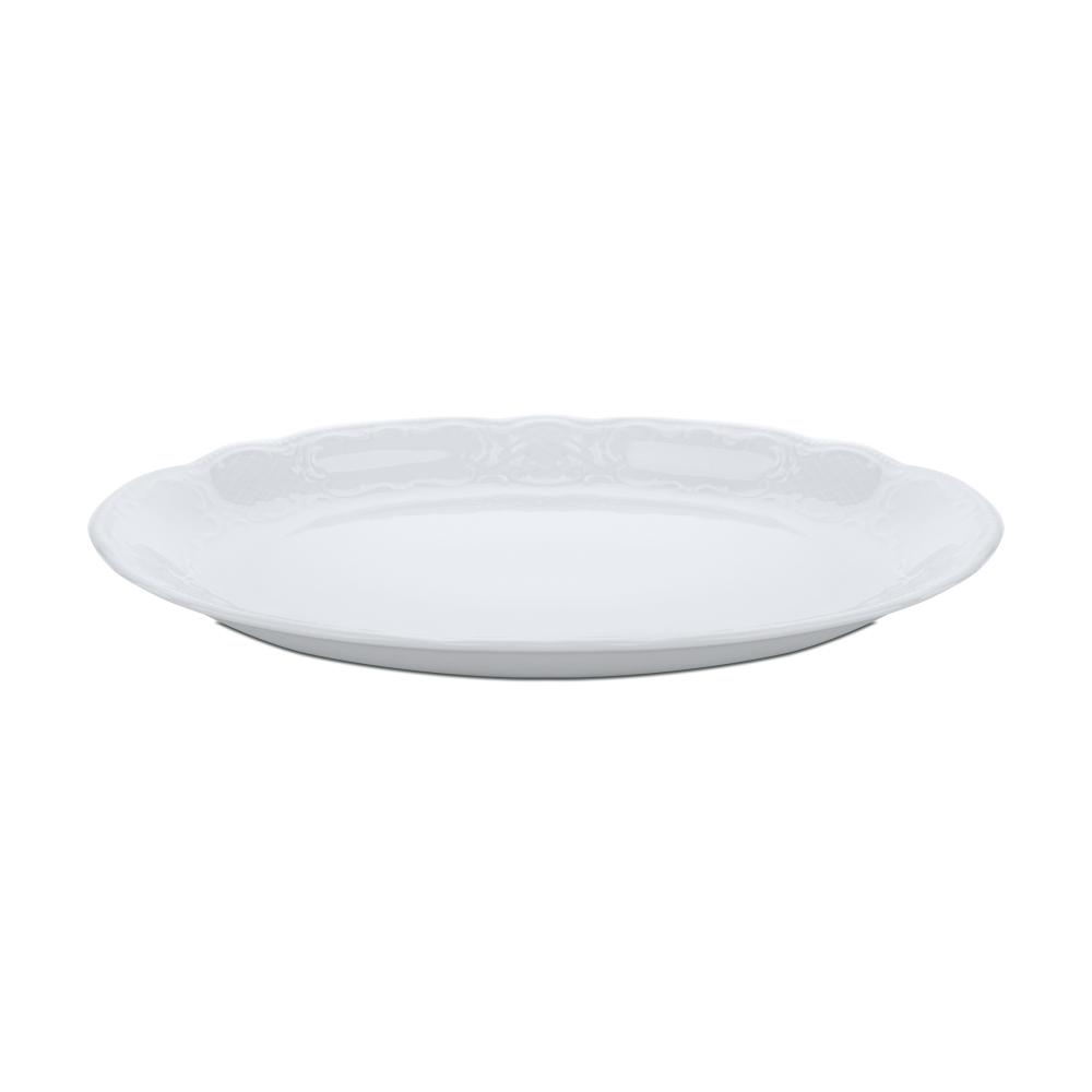 Блюдо овальное 31 см, Salzburg Uni, серия Salzburg Uni, 001.605970, SELTMANN, Германия салатник 15 см 420 мл серия salzburg uni 001 602669 seltmann германия