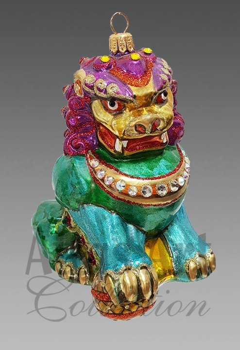 Юэчжи китайский лев-страж