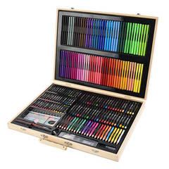 Набор для рисования в деревянном чемоданчике (251 предмет)