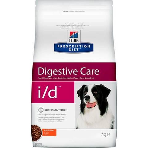 Hill's диета сухой корм для собак I/D лечение ЖКТ 2кг