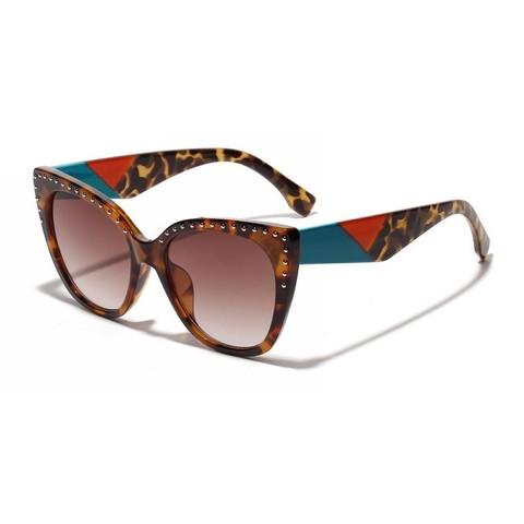 Солнцезащитные очки 5001s Тигровый - фото