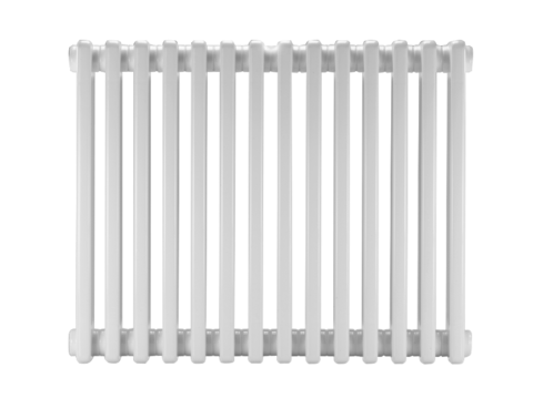 Стальной трубчатый радиатор DiaNorm Delta Complet 2050, 22 секции, подкл. VLO, RAL 7033