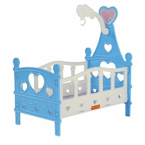 Кроватка сборная для кукол №3 6 элементов /62055