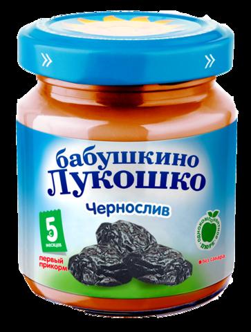 Бабушкино Лукошко Пюре чернослив 100гр