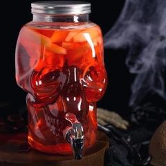 Диспенсер для напитков «Череп»,  8 литров, фото 3