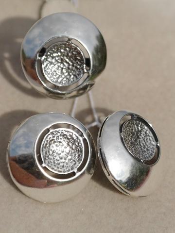 Орион Ц(кольцо + серьги из серебра)