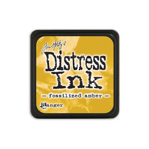 Подушечка Distress Ink Ranger - fossilized amber