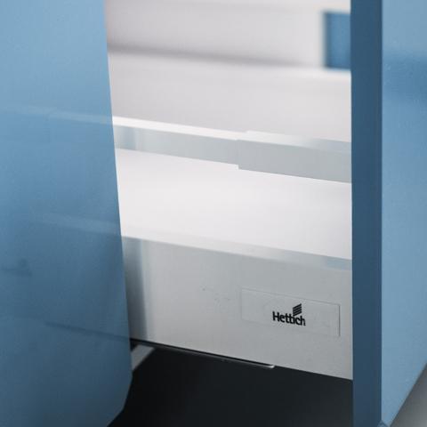 Напольный шкаф c 2 ящиками, 720Х800 мм / PushToOpen