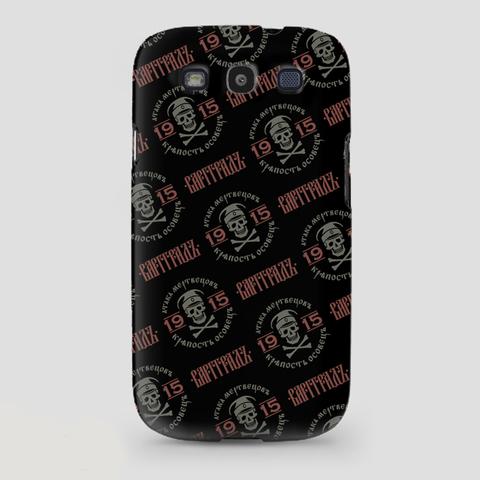 Кейс для смартфона Samsung Galaxy 3 чёрный пластик