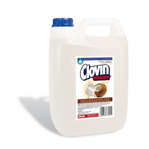 Clovin handy жидкое мыло Молоко и кокос с глицерином 5л