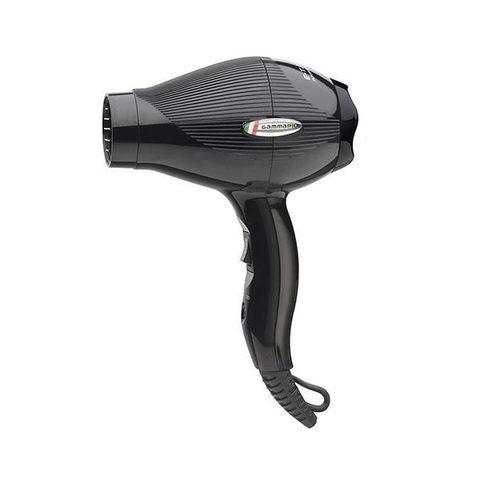 Дорожный фен Gamma Piu E-T.C. Mini 1200 Вт черный