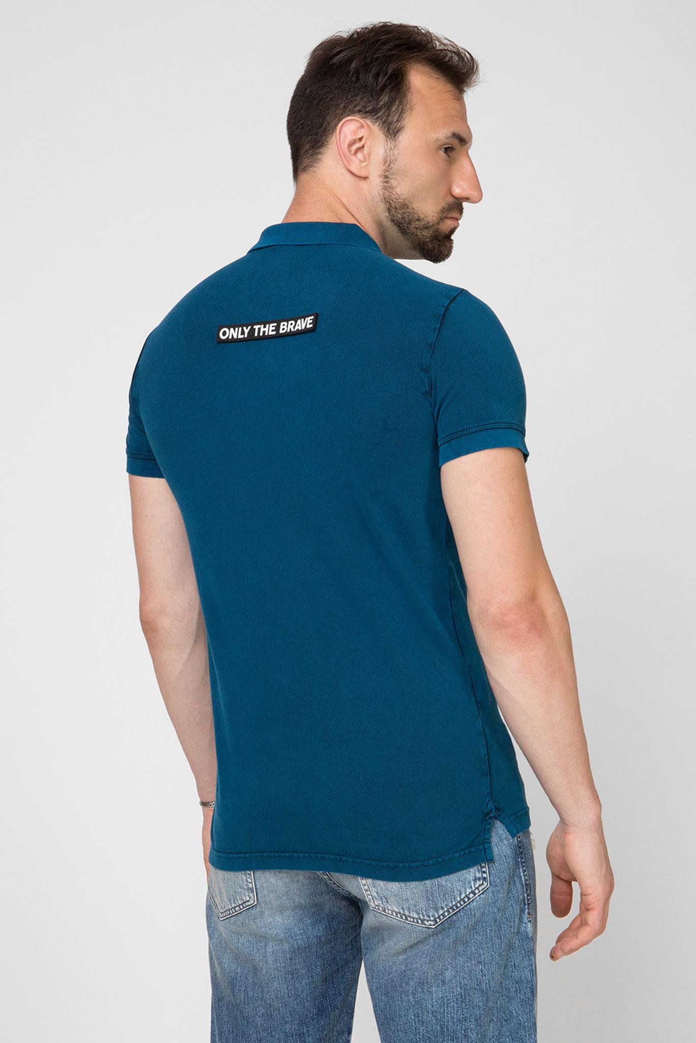 Мужское синее поло T-randy-new Diesel