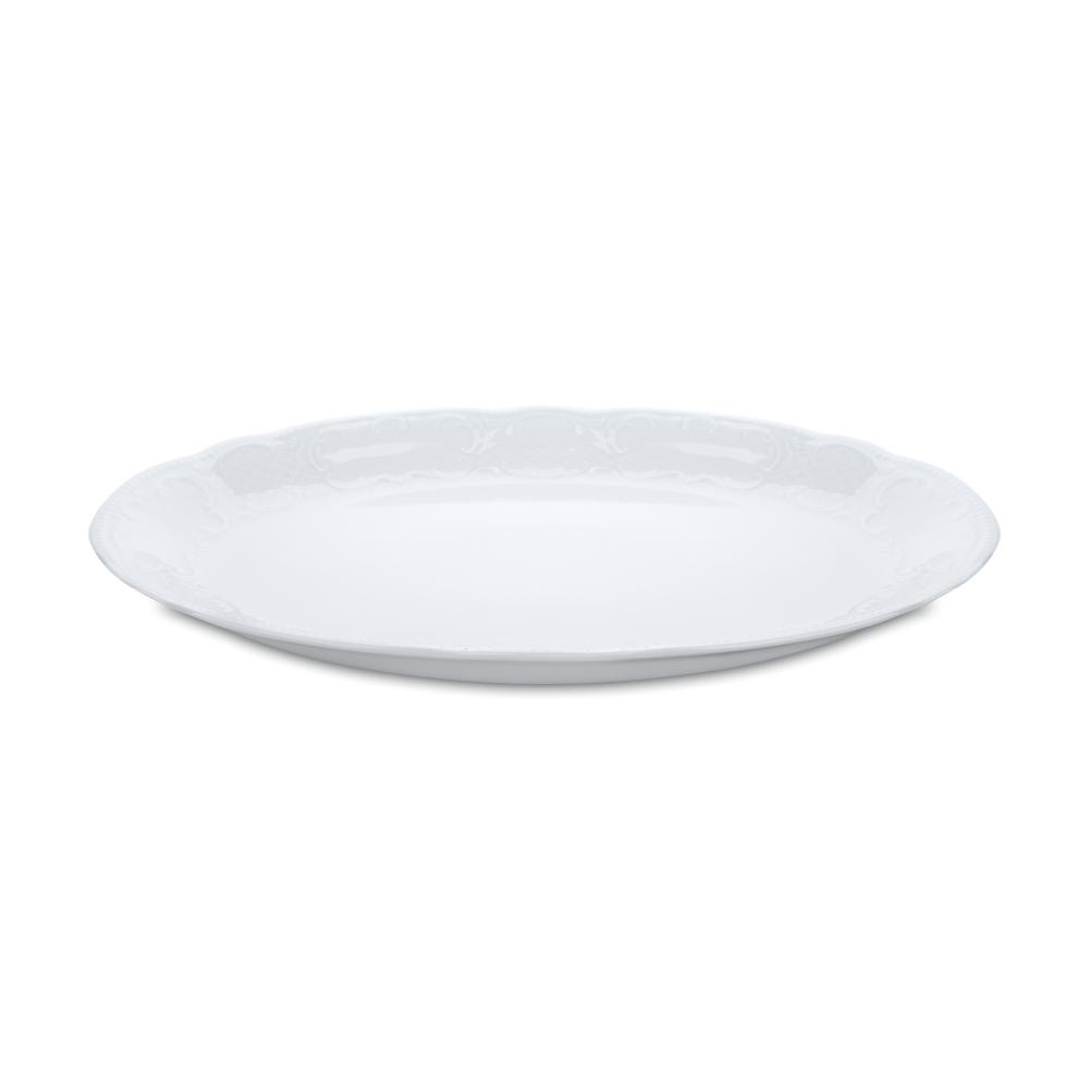 Блюдо овальное 35 см, Salzburg Uni, серия Salzburg Uni, 001.606215, SELTMANN, Германия салатник 15 см 420 мл серия salzburg uni 001 602669 seltmann германия