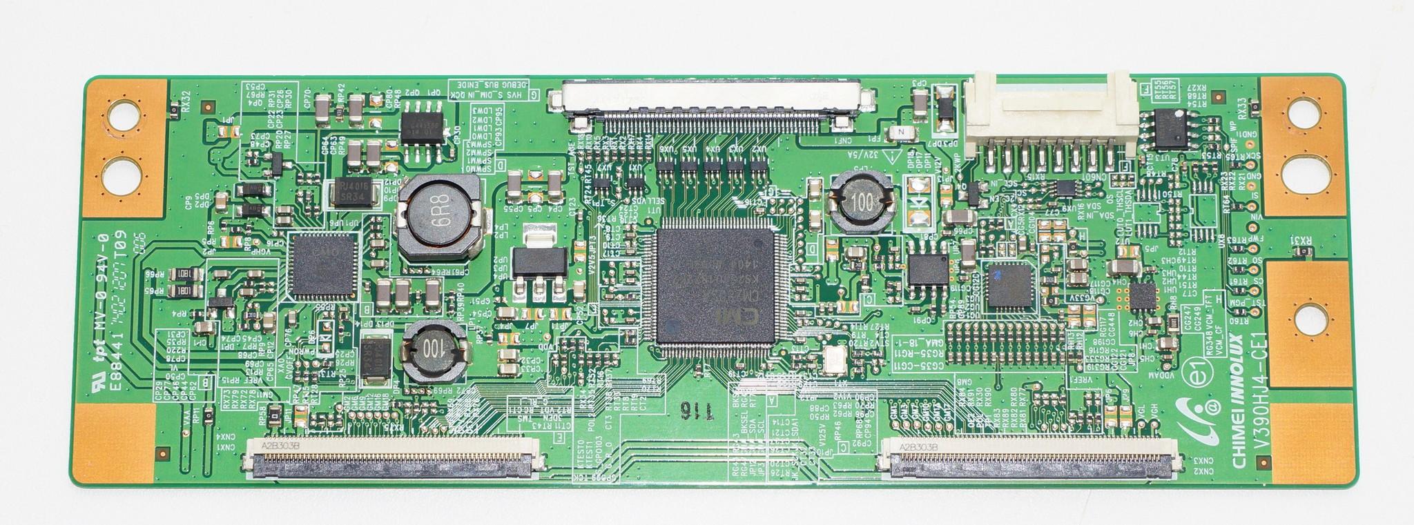 T-con V390HJ4-CE1 телевизора Samsung