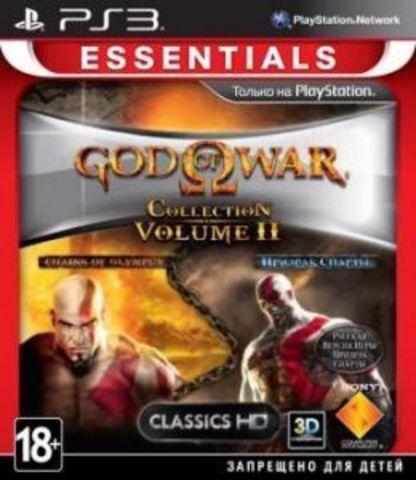 PS3 God of War Collection 2 (английская версия)