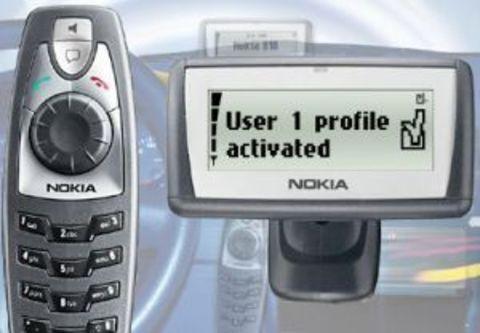 Автомобильный телефон Nokia 810 (RUS)
