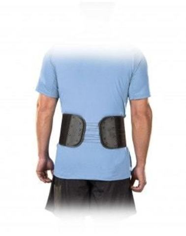 68147 Adjustable Back & Abdominal Support, Black, OSFM