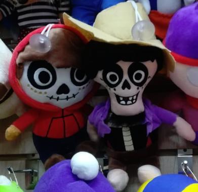 Две мягких игрушки из мультфильма
