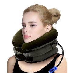 Надувная подушка для шеи тройная
