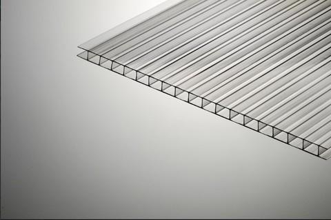 СПК (сотовый поликарбонат) 6 мм. прозрачный.