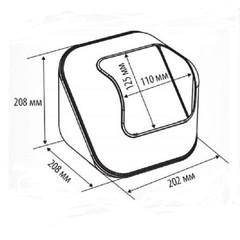 Дисплей универсальный CUBE для выкладки мелких продуктов