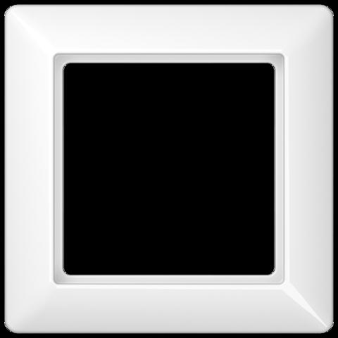 Рамка на 1 пост. Цвет Белый. JUNG AS. AS581WW