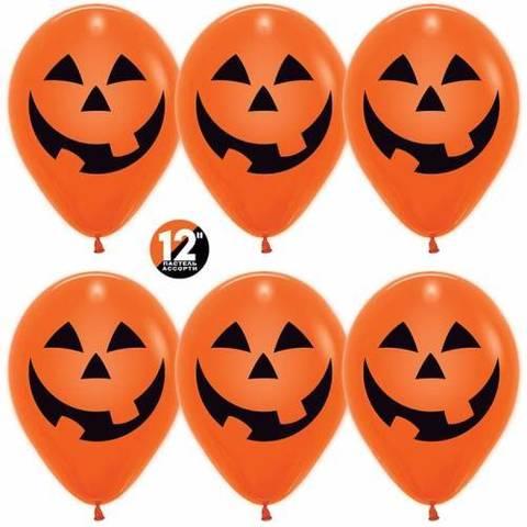 Воздушные шары Тыквы оранжевые