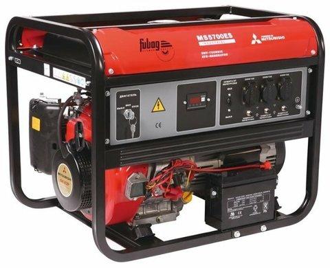 Кожух для бензинового генератора Fubag MS 5700 ES (5100 Вт)