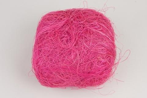 Волокно сизаля 100г (Цвет: цикламен)
