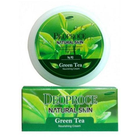 Deoproce Premium Clean & Moisure Green Tea Massage Cream - Крем массажный