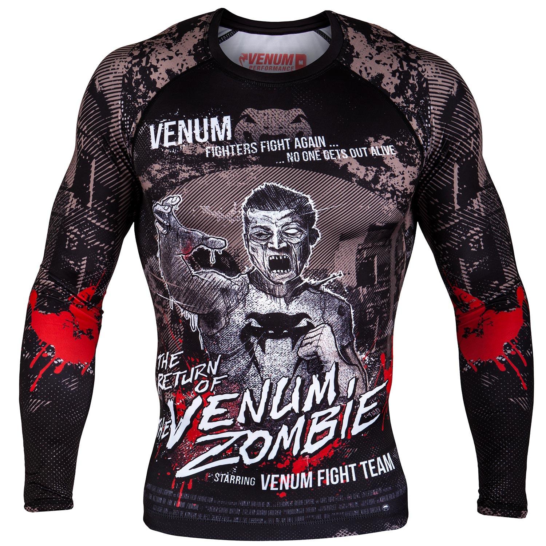 Термобелье/Рашгарды Рашгард Venum Zombie Return Rashguard Long Sleeves Black 1.jpg