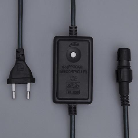 Контроллер для дюралайта 3-х жильный, диаметр 13мм, 8 режимов, до 50 метров