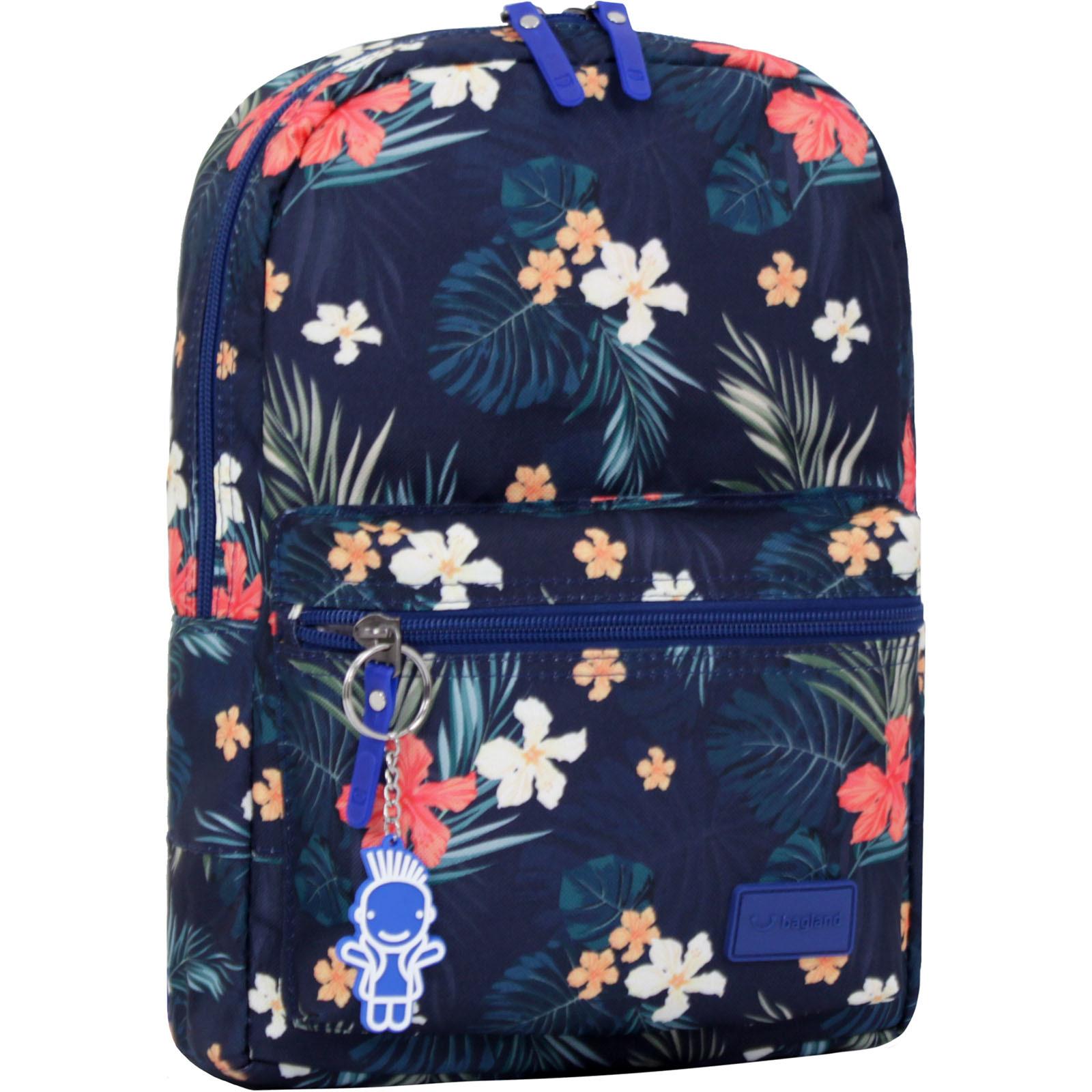 Детские рюкзаки Рюкзак Bagland Молодежный mini 8 л. сублимация (цветы) (00508664) IMG_0837_арт.103_.JPG