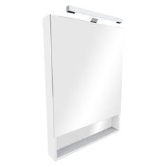 Зеркальный шкаф Roca The Gap 60cm (белый) ZRU9302748