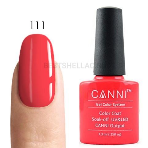 Canni Canni, Гель-лак № 111, 7,3 мл 111.jpg