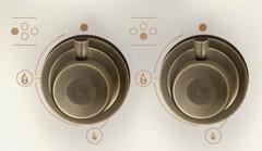 Варочная панель Korting HG 6115 CTRI ручки управления