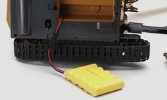 Дополнительный аккумулятор для радиоуправляемых моделей строительной техники