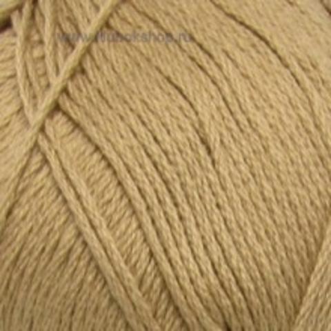 Пряжа Хлопок натуральный (Пехорка) Песочный 124