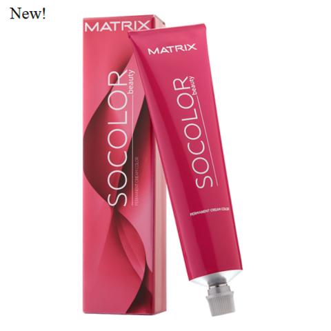 Matrix socolor beauty перманентный краситель для волос, темный блондин мокка пепельный 6MA